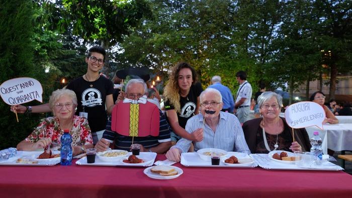 Festa del Camerlengo-cena