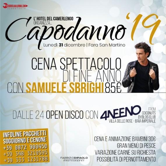 CENONE 2019 (SPETTACOLO con SAMUELE SBRIGHI e 4Neeno DJ)