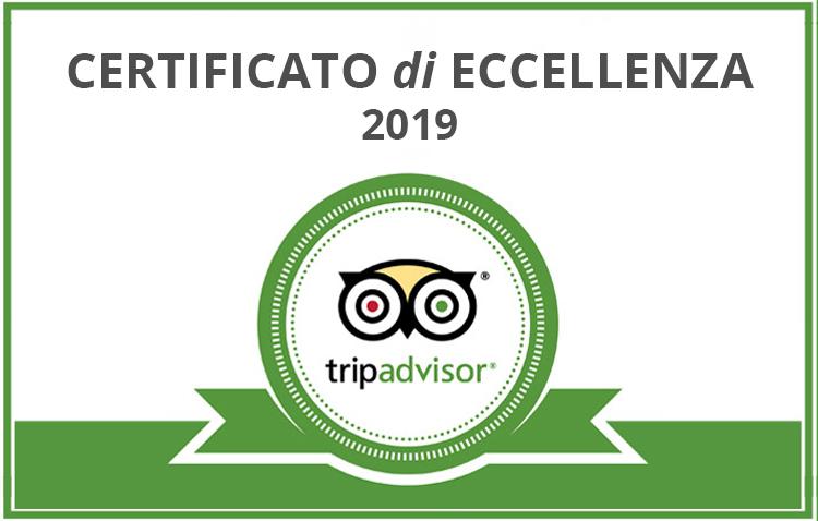 Certificato eccellenza 2019